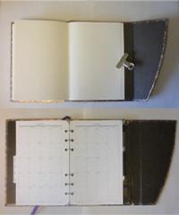 上:カスタム前 下:カスタム後はボールペン収納機能も