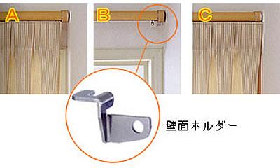 ギボシショートと壁面ホルダーで光漏れ防止
