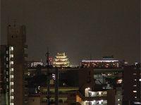 名古屋城夜景