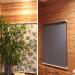 木製壁材の雰囲気を活かしたロールスクリーン施工事例